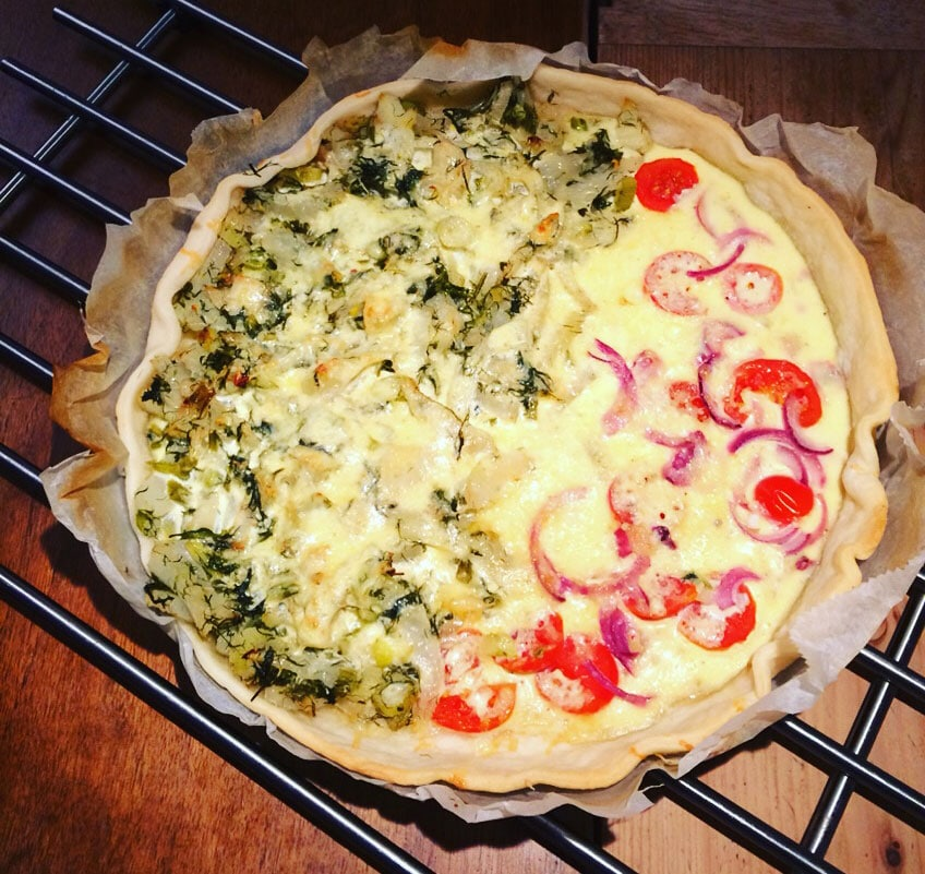quiche-fenchel