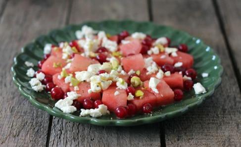 Wassermelonen Feta Salat
