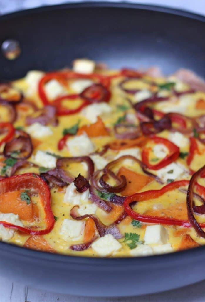 frittata süßkartoffeln feta