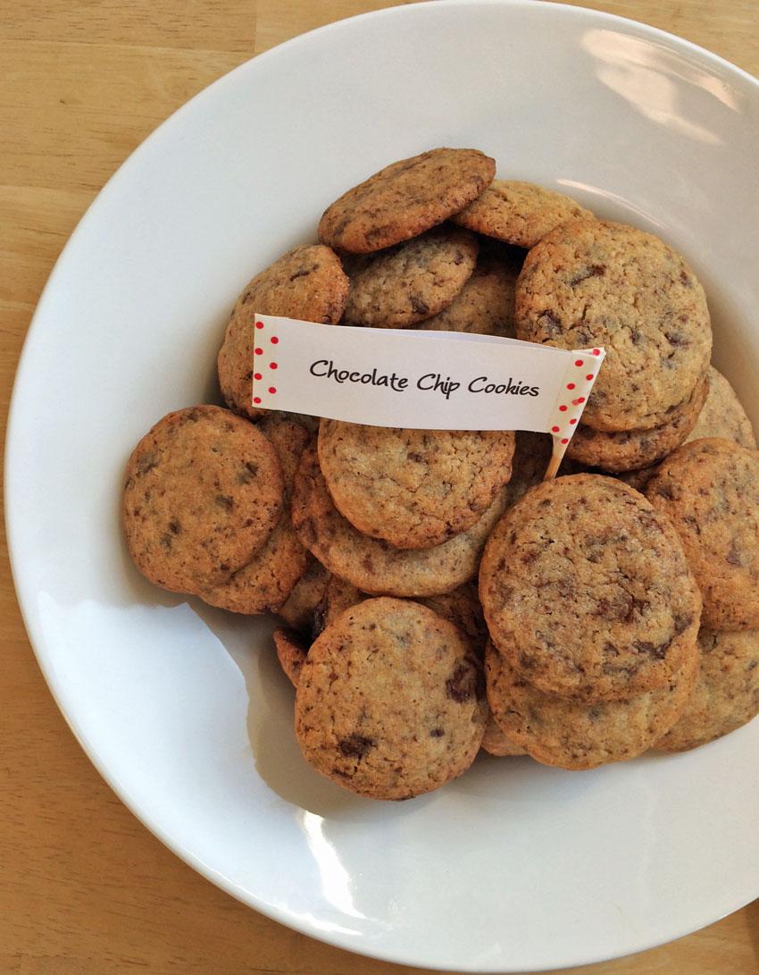 Voll auf die Hüften: Chocolate Chip Cookies