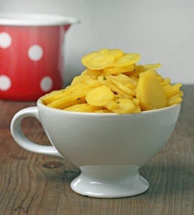 Original schwäbischer Kartoffelsalat nach Oma Marie