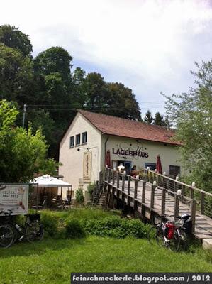 Idylle auf der Schwäbischen Alb: Lagerhaus an der Lauter