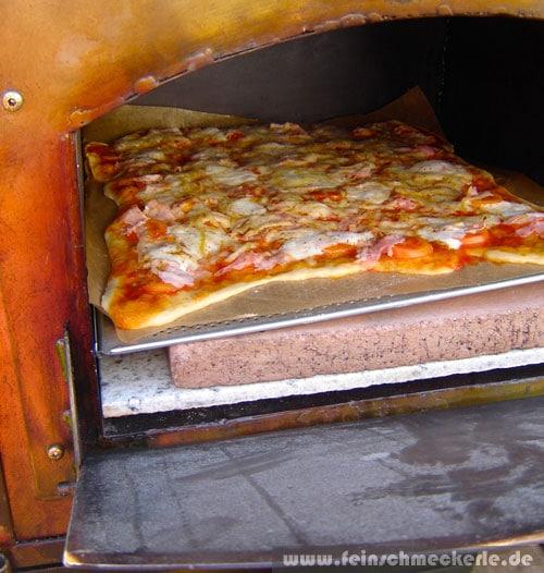Ofenbauer Reutlingen pizza aus dem holzbackofen feinschmeckerle foodblog reiseblog