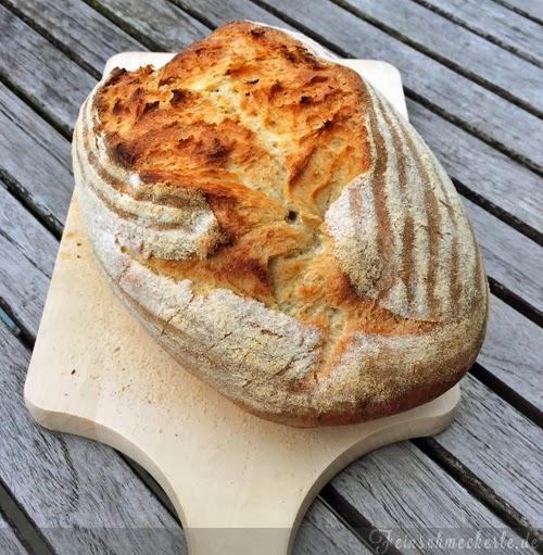 Einfaches Bauernbrot Für Back Anfänger Feinschmeckerle Foodblog