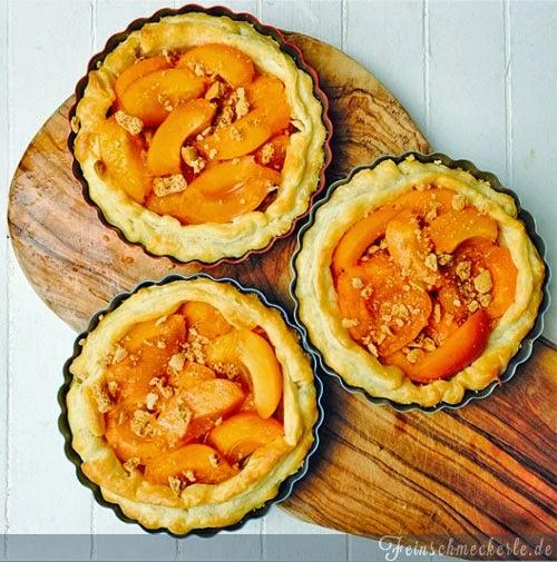 aprikosenkuchen aprikosentarte aprikosen tartelettes