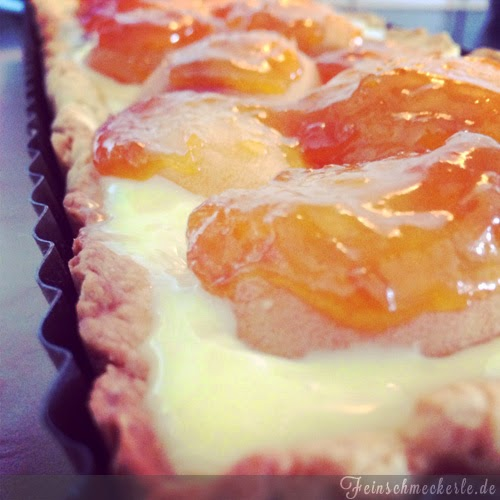 aprikosen kuchen mit mascarpone