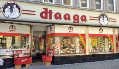 Adventskalender Paradies bei Haaga Schokoladen Esslingen