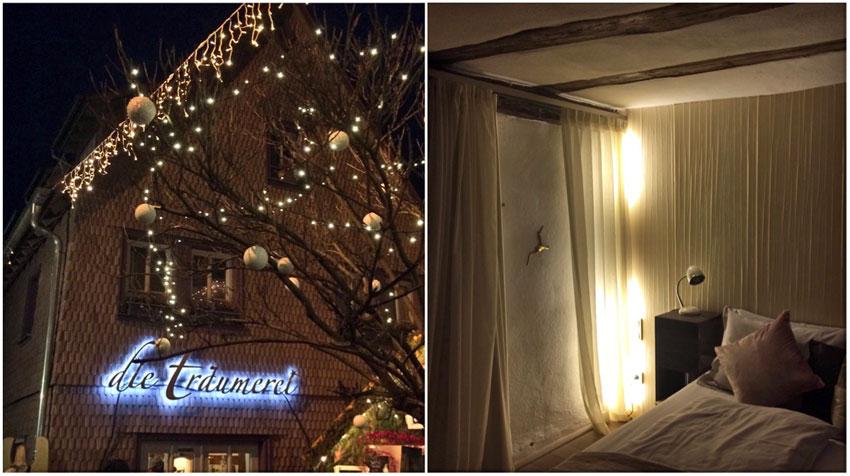 Eine Winternacht in der Träumerei Michelstadt