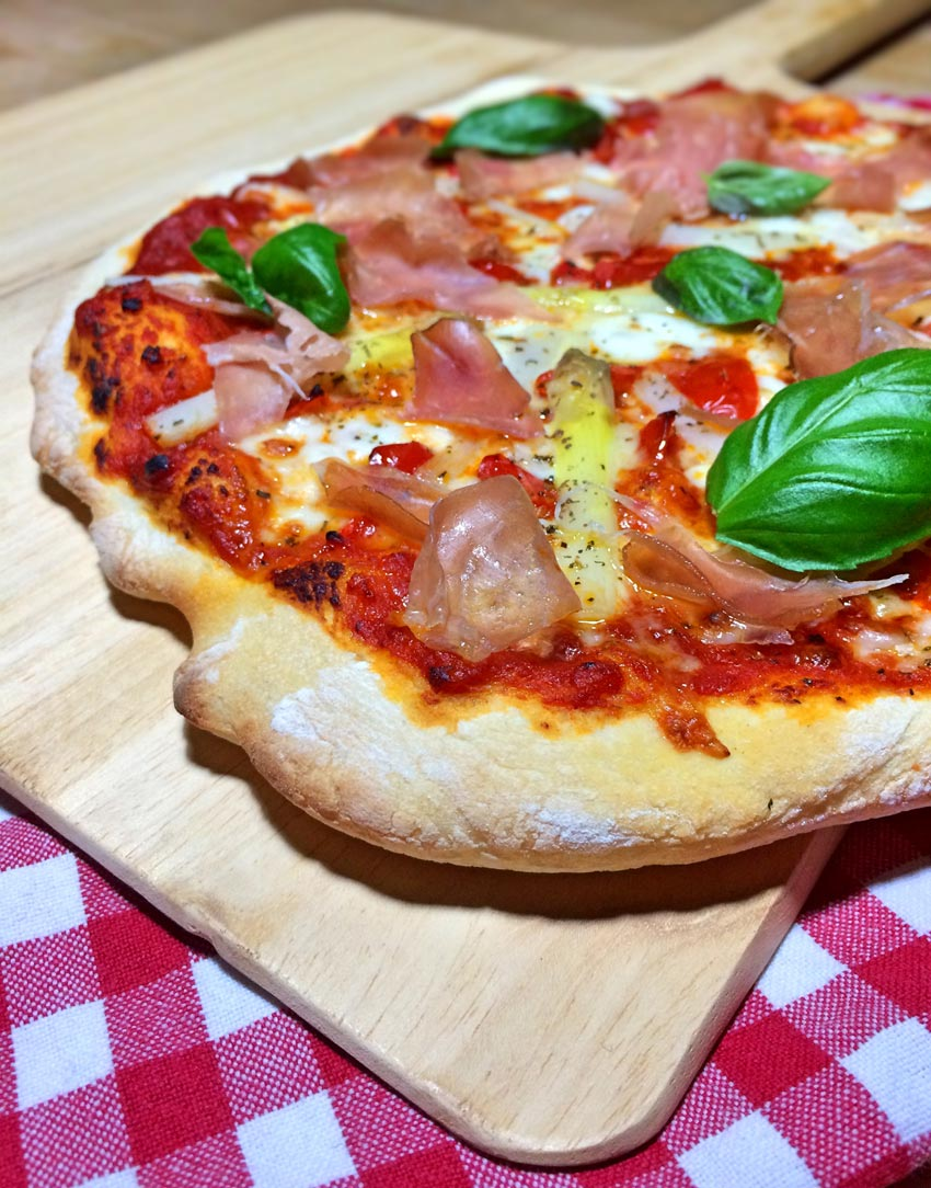 Pizza nach Tim Mälzer