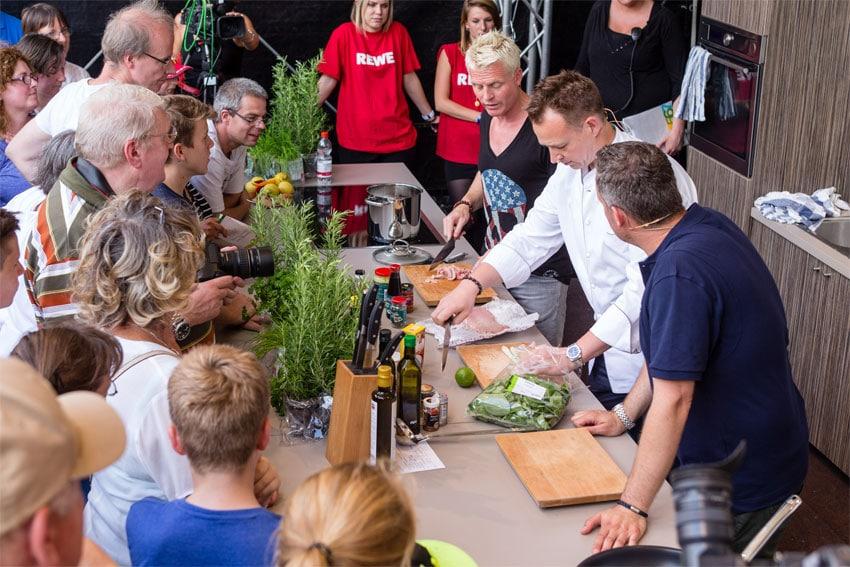 Promiköche kochen am Samstag für Euch in Stuttgart