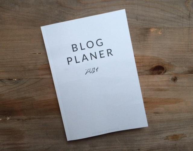 Verlosung Blogplaner 2017, denn ich: #bloglike2013