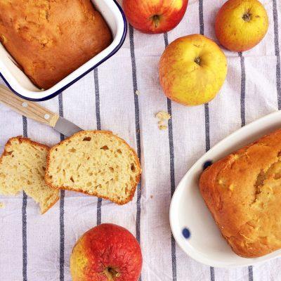 Leichter Apfelkuchen mit Joghurt