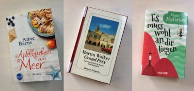 Buch Tipps: Martin Walkers neuer Roman Grand Prix, Mhairi McFarlane und Anne Barns