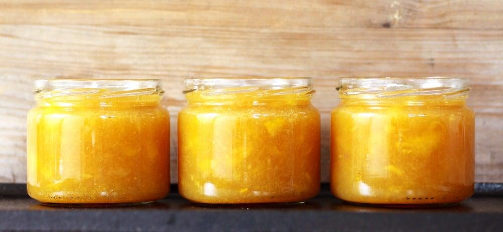 Pfirsich Nektarinen Marmelade