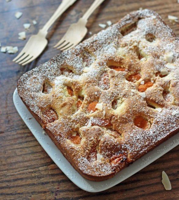 Aprikosen Kokos Kuchen