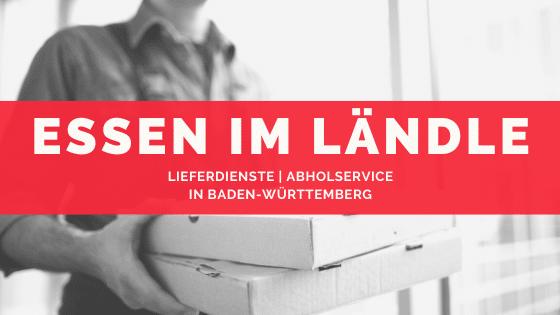 Lieferdienste Baden Württemberg